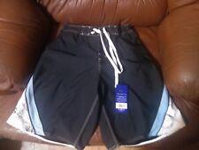 Del Sol Surf Co Men's Swim Trunks Size S Navy Blue NWT Board Shorts