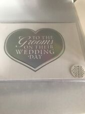 To the Grooms Wedding Gay Mr & Mr Greeting Gift Card