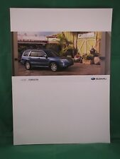 2008 Subaru Forester new vehicle brochure