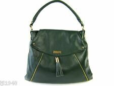 Onna Ehrlich Kelly Leather Tote Bag Handbag Hunter Green + Dust Bag  NWT $498