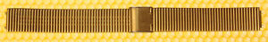 """12mm SEIKO """"G1508"""" Metal Watch Band Gold-Tone MADE IN JAPAN <<NWoT>>"""