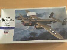 1/72 Hasegawa B-25H Army Air Force Bomber. Factory Sealed. Kit # 547