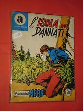 COMANDANTE MARK COLLANA ARALDO-DA LIRE 200 N°50- ORIGINALE CON LA-A 1970 BONELLI