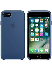 """NEW - Genuine 2016 Soft Silicone Case for Apple iPhone 7 4.7"""" in Ocean Blue"""