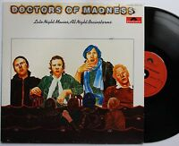 DOCTORS OF MADNESS - Late Night Movies, All Night Brainstorms LP Pop Avant Garde