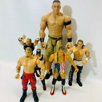 WWE WF Action Figure Lot 6 figures 6 inch 7 inch 12 inch
