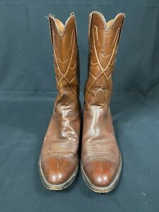 Pre-owned Lucchese boots 12 1/2 B