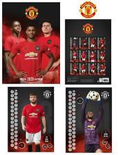 Official A3 Football Soccer Gift Manchester United 2020 Premier Calendar Man Utd