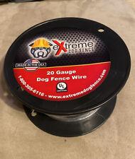 New! EXtreme Dog Fence-20 Gauge Dog Fence Wire-Underground Shock line-500Ft.