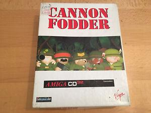 Cannon Fodder - Commodore Amiga CD32