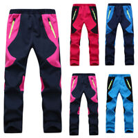 Children Casual Shorts Warmer Pants Trousers Snowboard Ski Hiking Winter Sports