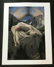 SIGNED By STANLEY MOUSE- FAINTED BEAUTY GICLEE FINE ART PRINT 17 x 22 TEST PRINT