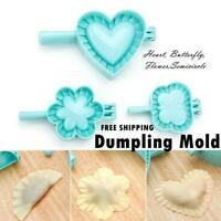 Plastic Dumpling Maker Wrapper Dough Cutter Mould Various Sizes Dough Press DIY