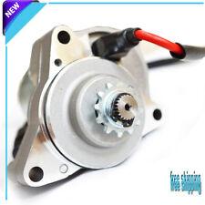 Electric Starter Motor 50 70 90 110 125cc ATV quad 3 bolt Upper Engine Mount