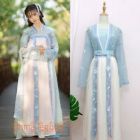 Women's Dress Sun-top Tops Skirt Hanfu Han Cosplay Dress Chest Skirt Waist Skirt