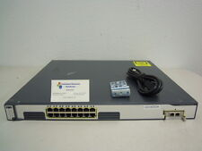 Cisco WS-C3750G-16TD-S 16-Ports Gigabit + 1 x XENPAK-10GB-LR IOS 15.0 IPSERVICES