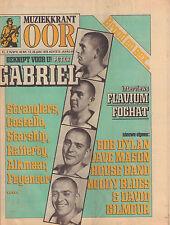 MAGAZINE OOR 1978 nr. 13 - POP IN GRONINGEN / PETER GABRIEL / FOGHAT / FLAVIUM