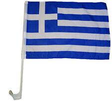 Autoflagge Griechenland 30 x 40 cm Autofahne Fenster Flagge Fahne Autofahne  Fan