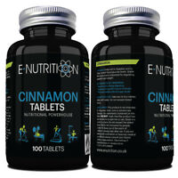 CINNAMON 2000mg 100 TABLETS NOT CAPSULES | VEGAN | CONTROL INSULIN | WEIGHT LOSS