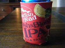 DOGFISH HEAD BEER CAN OR BOTTLE KOOZIE RED FLESH AND BLOOD IPA STAYS COLD RARE!!