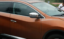 Chrome Turning Light Side Mirror Cover Trim for 2015-2017 Nissan Murano Mirror