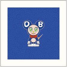 Takashi Murakami DOB 2020 BLUE Kaikai Kiki. Signed. Ltd. ED 100