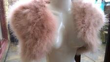 Vintage Blush Pink Marabou Feather Bolero / Jacket / Shawl - New Seasons Colour