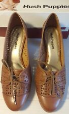 BNIB - Hush Puppies HP Francesca Tan Leather UK 7 Wide