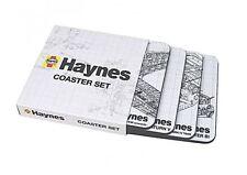 HAYNES COASTER SET OF 4 LANCASTER BI MARK IV TANK SATURN V SPITFIRE DESIGN