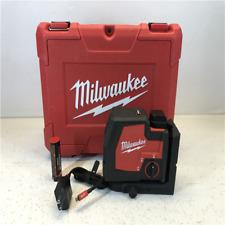 Milwaukee 100 ft.Redlithium Usb Green Rechargeable Cross Line Laser Level