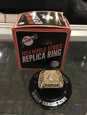 1954 CHAMPIONSHIP REPLICA RING SAN FRANCISCO GIANTS BALL PARK GIVE AWAY
