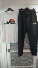 Ellesse White T Shirt & Grey Joggers Size 12