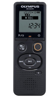 Brand New Sealed Olympus Digital Voice Recorder VN-541PC Black 4GB Memory LCD
