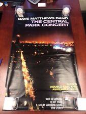 Dave Matthews Band Banner 2 Sided Central Park Concert Some Devil