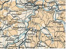 Trendelburg Karlshafen Gieselwerder 1931 Teilkarte Sababurg Wahlsburg Hümme