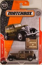 MATCHBOX #55 '33 Plymouth Sedan Police Car, 2018 issue (NEW in BLISTER)