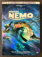 Finding Nemo (Dvd, 2003, 2-Disc Set, Collector's Edition) with Slipcover/Insert