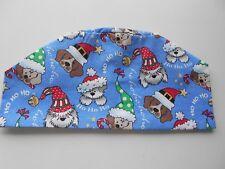 CHRISTMAS SCRUB HATS!! CUTE BLUE PUPPIES!!