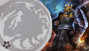 Legend of the Five Rings Defender of the Wall Clan Playmat
