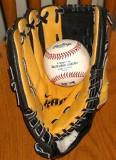 """New listing Youth NIKE KAOS 10"""" Leather Left-Handed Baseball Glove LH Mitt MN 1008 EXCELLENT"""