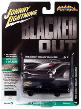 Johnny Lightning Street Freaks Blacked Out 1959 Cadillac Eldorado SF19 VS. A