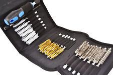 Set de 20 cepillos de acero, latón y nylon para limpiar tubos, inyectores, etc.