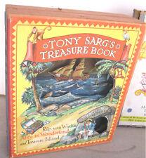 TONY SARG'S TREASURE BOOK,1942,1stEd.BOXED,Rip VanWinkle,Alice,Tresure Island,