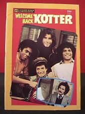 Welcome Back Kotter 1977 Golden Book No. 6419 Near Mint Condition