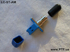 LC/ST Fiber Optic Mating Adapter MM Mating Sleeve