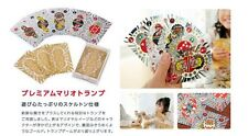 NEW!! Club Nintendo 2012 Premium Mario Trump Playing Cards JAPAN Platinum Prize