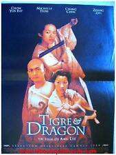TIGRE ET DRAGON Affiche Cinéma / Movie Poster CHOW YUN FAT MICHELE YEOH