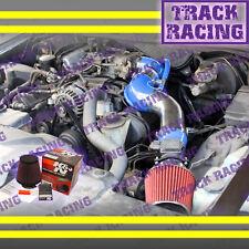 96-02 FORD CROWN VICTORIA/TOWN CAR/GRAND MARQUIS V8 FULL AIR INTAKE+K&N Blue Red