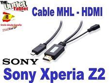 CABLE MHL HDMI PARA SMARTPHONE SONY XPERIA Z2