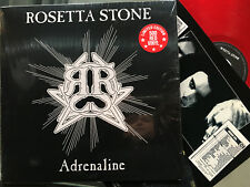 ROSETTA STONE - ADRENALINE Red Vinyl LP Death Rock / Goth Shadow Witch Darkside